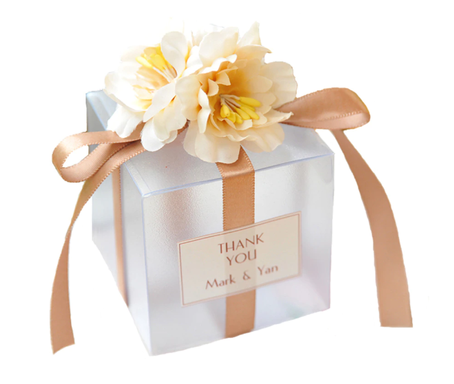 Wedding Favors Wholesale.Beautiful Wedding Favor Candy Boxes Wholesale With Flowers