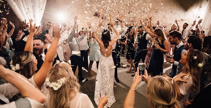 Finest Rock Wedding Songs To Lit Your Mood And Make You Groove